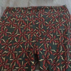 Christmas print leggings!